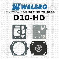 kit membrane carburatore Walbro D10-HD