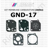 kit membrane carburatore Zama GND-17