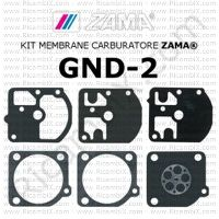 kit membrane carburatore Zama GND-2