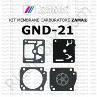 kit membrane carburatore Zama GND-21