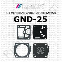 kit membrane carburatore Zama GND-25