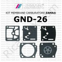 kit membrane carburatore Zama GND-26