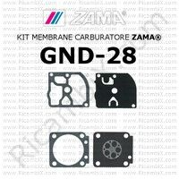 kit membrane carburatore Zama GND-28