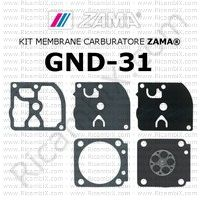 kit membrane carburatore Zama GND-31
