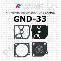kit membrane carburatore Zama GND-33