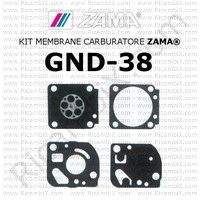 kit membrane carburatore Zama GND-38