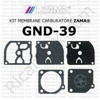 kit membrane carburatore Zama GND-39