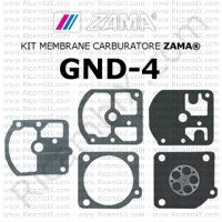 kit membrane carburatore Zama GND-4