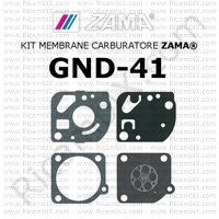 kit membrane carburatore Zama GND-41