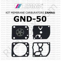kit membrane carburatore Zama GND-50