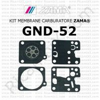 kit membrane carburatore Zama GND-52