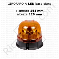 girofaro completo led base piana A28300