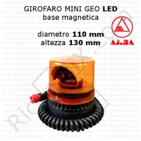girofaro mini geo led ajba base magnetica A28311