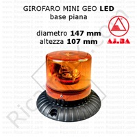 girofaro mini geo led ajba base piana A28310
