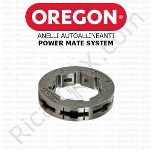 Anelli autoallineanti per pignoni Oregon Power Mate