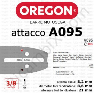 Barra motosega Oregon A095