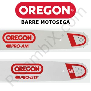 barre motosega Oregon - catalogo completo