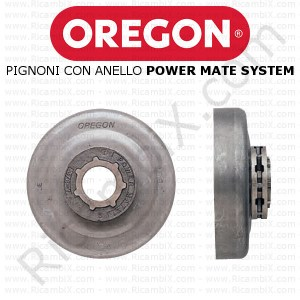 Pignoni con anello autoallineante Oregon Power Mate System