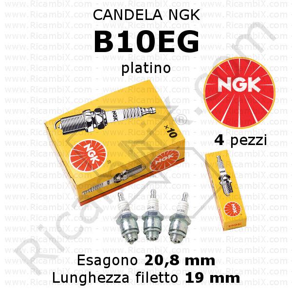 Candela di accensione NGK BMR6A.