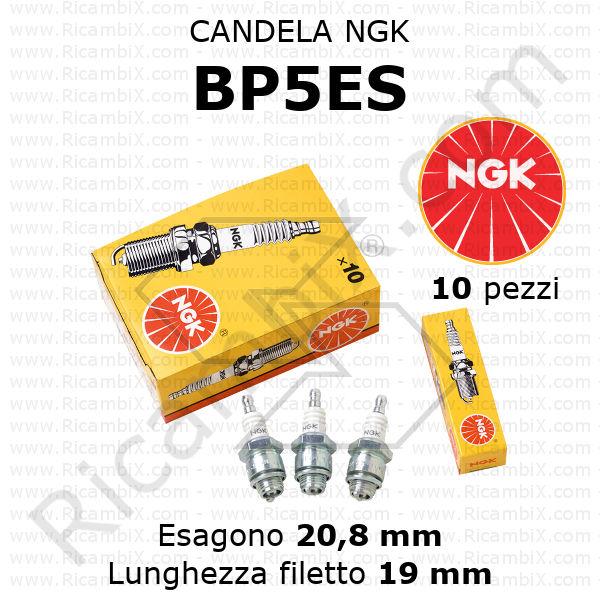 CANDELA ACCENSIONE NGK BP5ES