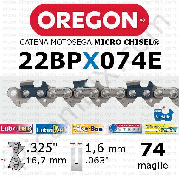 74/maglie passo 1,6/mm Stihl Maglie per catena Rapid micro 45,7/cm