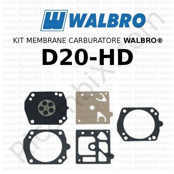 Kit Membrane e Guarnizioni Walbro D22-HDA Sabart R122174