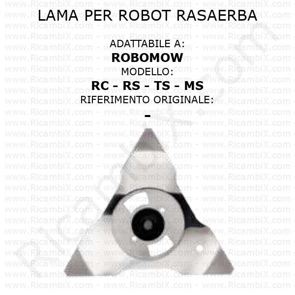 Lama per robot rasaerba Robomow RC - RS - TS - MS - rif. orig. -