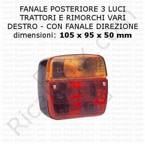 2 fanalini anteriori o posteriori in metallo cromato Ferrari e vari modelli