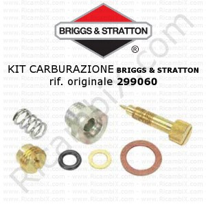 Kit per carburazione carburatore BRIGGS & STRATTON® 299060