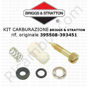 Kit per carburazione carburatore BRIGGS & STRATTON® 395508 - 393451