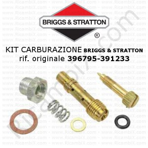 Kit per carburazione carburatore BRIGGS & STRATTON® 396795 - 391233