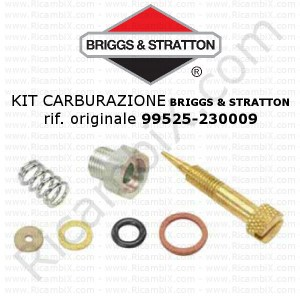 Kit per carburazione carburatore BRIGGS & STRATTON® 99525 - 230009