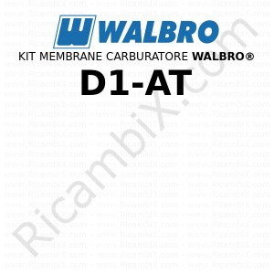 Kit membrane carburatore WALBRO® D1-AT