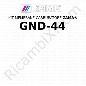 Kit membrane carburatore ZAMA® GND-44