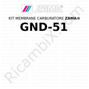 Kit membrane carburatore ZAMA® GND-51