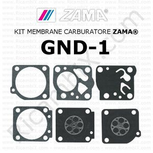Kit membrane carburatore ZAMA® GND-1