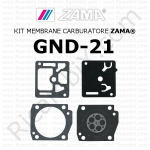Kit membrane carburatore ZAMA® GND-21
