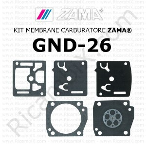 Kit membrane carburatore ZAMA® GND-26
