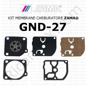 Kit membrane carburatore ZAMA® GND-27