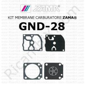 Kit membrane carburatore ZAMA® GND-28