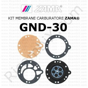 Kit membrane carburatore ZAMA® GND-30