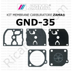 Kit membrane carburatore ZAMA® GND-35