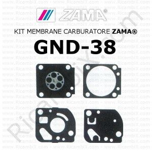 Kit membrane carburatore ZAMA® GND-38