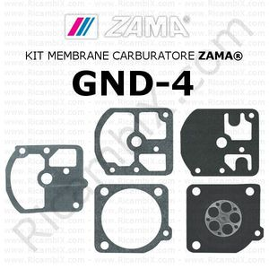 Kit membrane carburatore ZAMA® GND-4