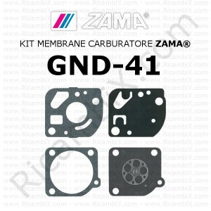 Kit membrane carburatore ZAMA® GND-41