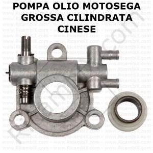pompa olio per motosega di grossa cilindrata cinese clone zenoah 6200