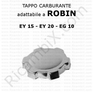 Tappo carburante Robin EY 15 - EY 20 - EG 10