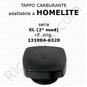Tappo carburante Homelite