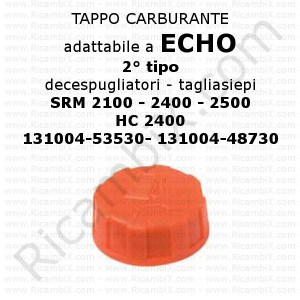 Tappo carburante Echo 2° tipo