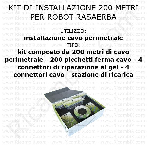 Kit di installazione - 200 metri
